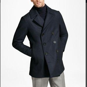 Brooks Brothers Iconic Wool Pea Coat